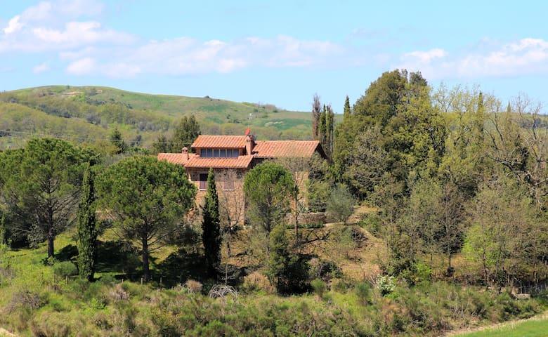 Villa il Poggetto - San Giovanni D'asso - House
