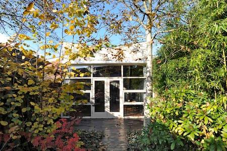 Entire house studio house in garden near centre