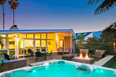 Piece of Paradise in the Shores-luxurious home w/ private yard and hot tub - La Jolla - Σπίτι