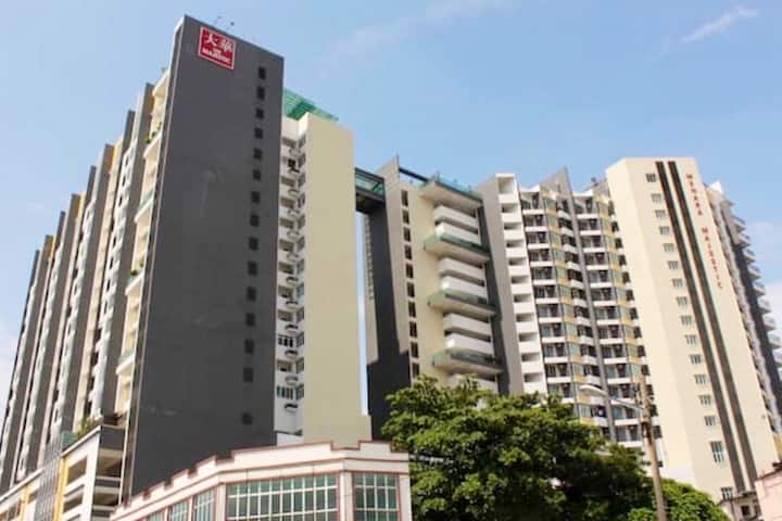 Majestic Homestay Hotel @ Ipoh Centre 4 Pax
