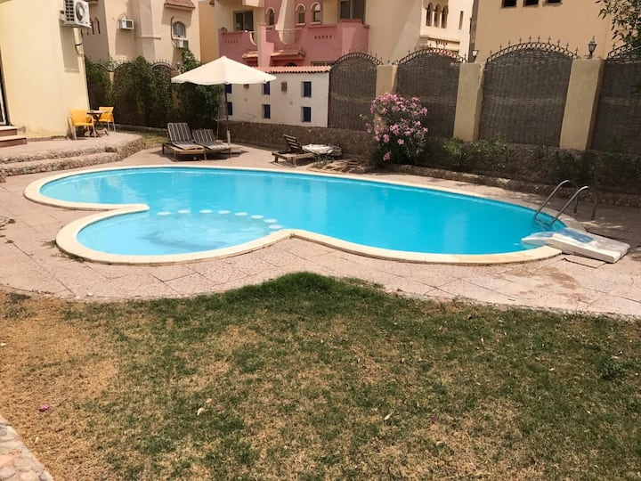 3bd villa in hurghada, private Spool&garden HRV103