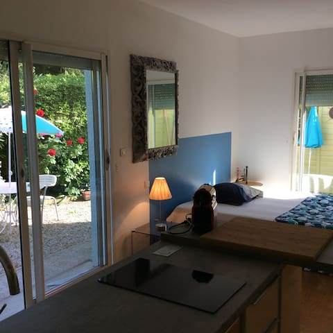 studio tout confort le3bis - Saint-Aunès - Apartamento