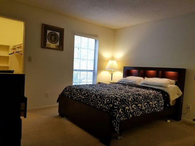 Master Bedroom/Spacious and Private - Smyrna - Apartment