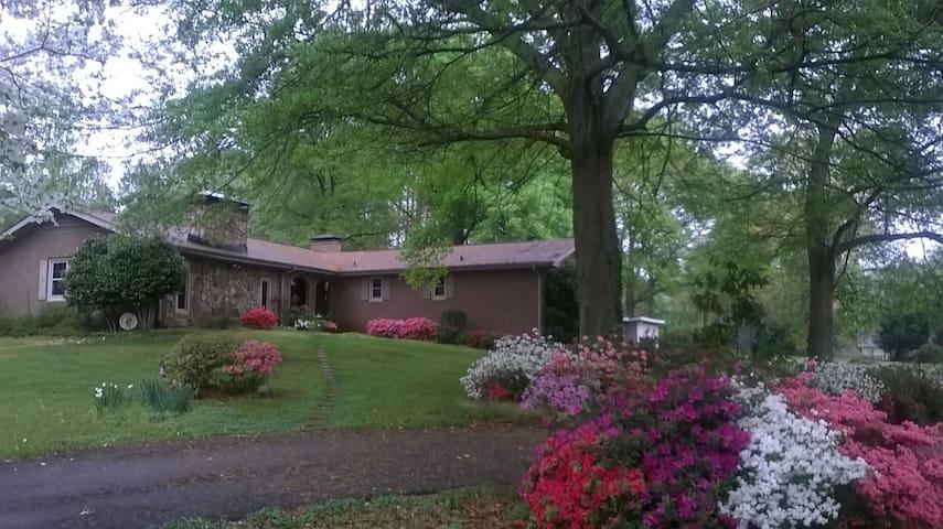 Old World amenities in South Atlanta