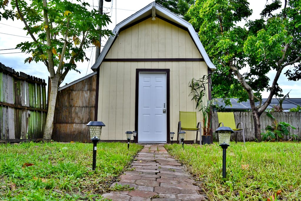Tiny House Near Downtown Orlando Guesthouse For Rent In