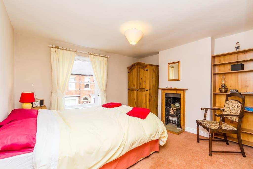 Your warm, cosy double bedroom