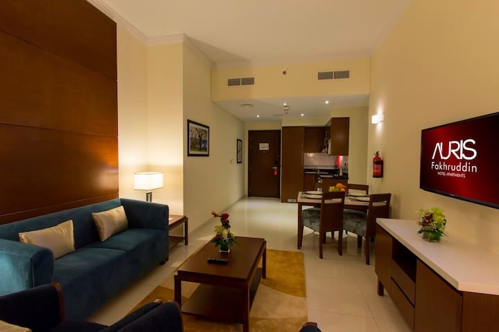 Spacious Two Bedroom Hotel Apartment