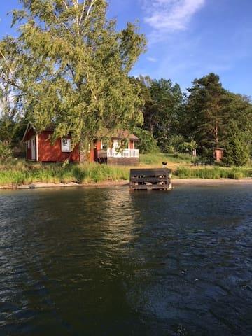 Sommarstuga på Skärgårdsö 50 min från city Sthlm!