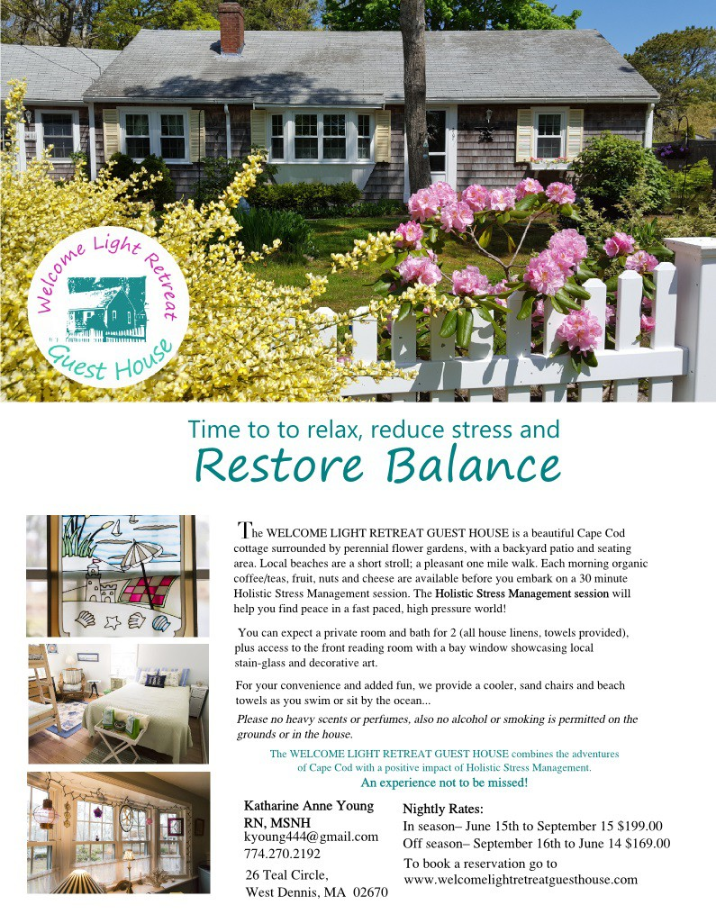 Welcome Light Retreat Guest House   Houses For Rent In Dennis,  Massachusetts, United States