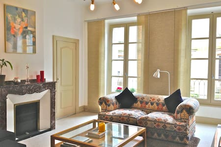 Stylish central apartment with roof terrace. - Carcassonne