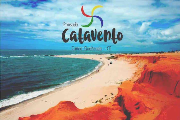Suíte em Canoa Quebrada - HOSPEDAGEM CATAVENTO n.1