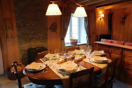 MAGNIFIQUE APPARTEMENT DECORE STYLE CHALET - La Bresse