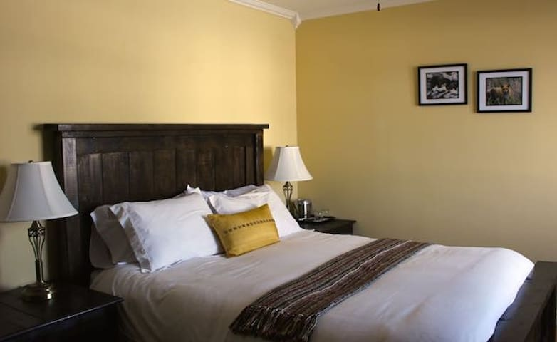Wake up to a bright, sunny room when you stay with us.