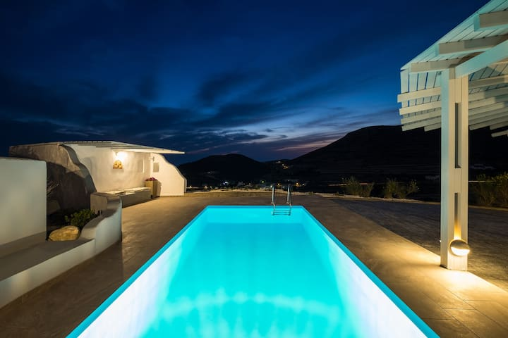 Paros Nereids Villas  Galatea with Private Pool