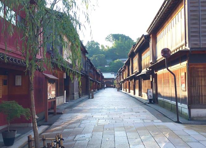 Compact Twin Room ,Located in Higashi Chayagai.