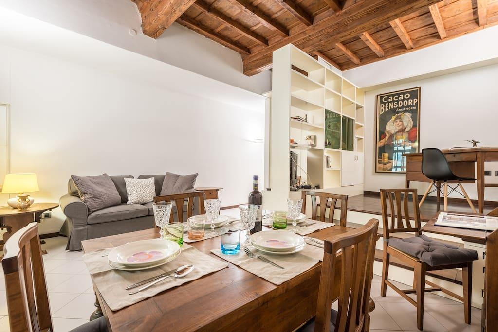 Soggiorno pranzo-dining room