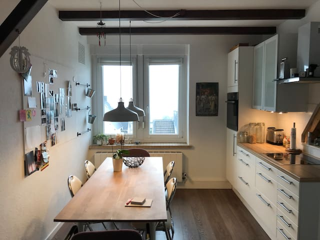 Beautiful flat with fantastic view in Wuppertal