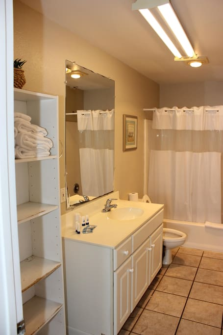 Huge Bathroom for room 227