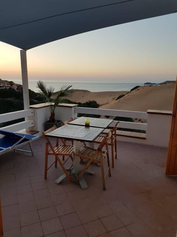 maison de plage vue mer & dune