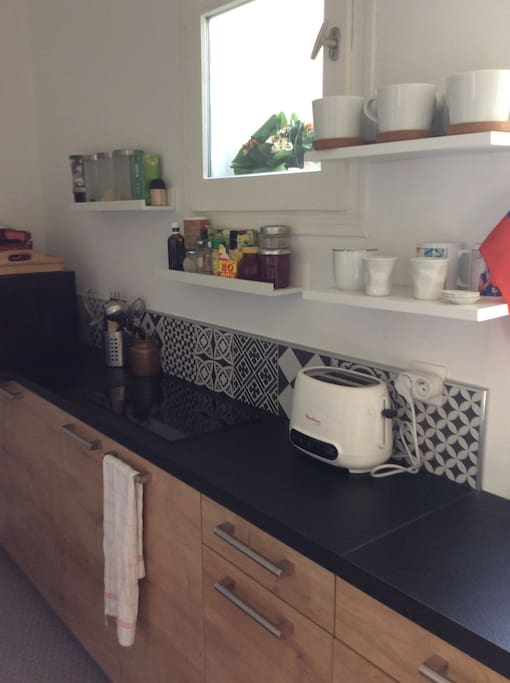 Cuisine équipée lave vaisselle plaque induction