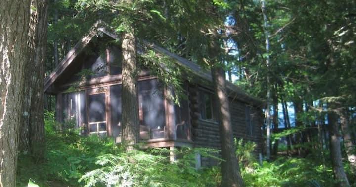 Log Cabin at Glenwild II on Lake Fairlee