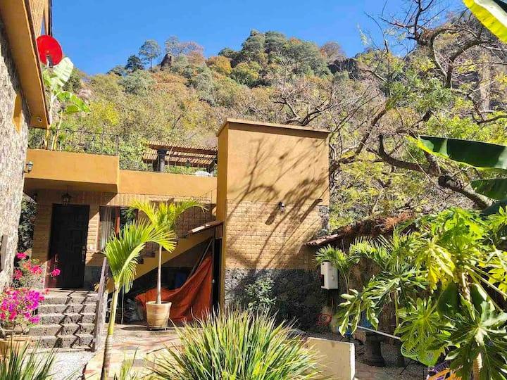 Villa Del Sol,  near Tepoztlan , Morelos