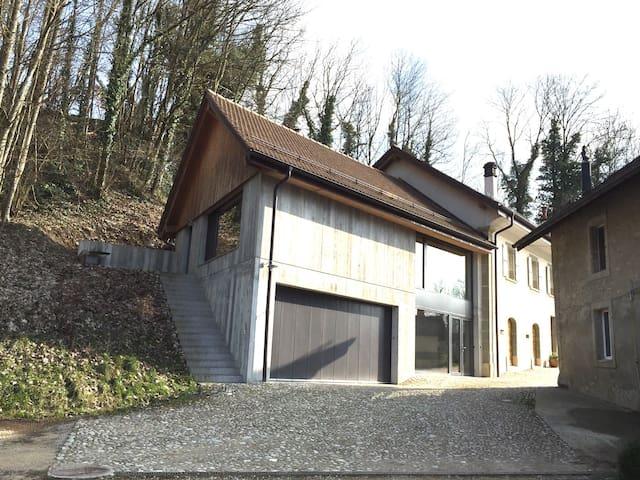 Loft en milieu rural à Eclagnens - Eclagnens - Loft