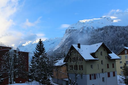 Breathtaking Studio - next to trainstation - Engelberg - Apartment