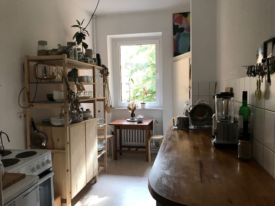 kitchen with small table