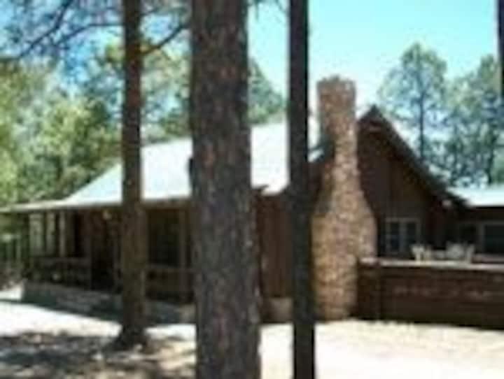 Abbott Log Cabin in Timberon, NM