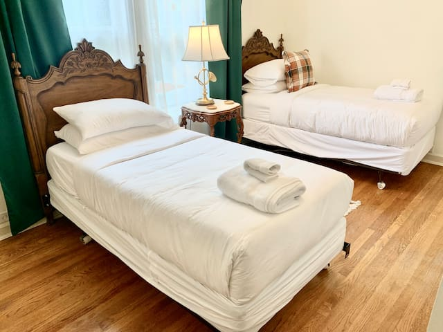 Bedroom 4: Two twin beds