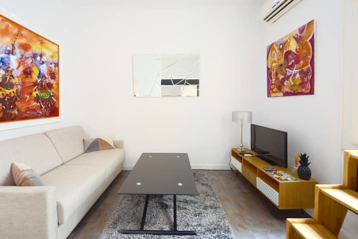 Studio avec terrasse  dans centre historique