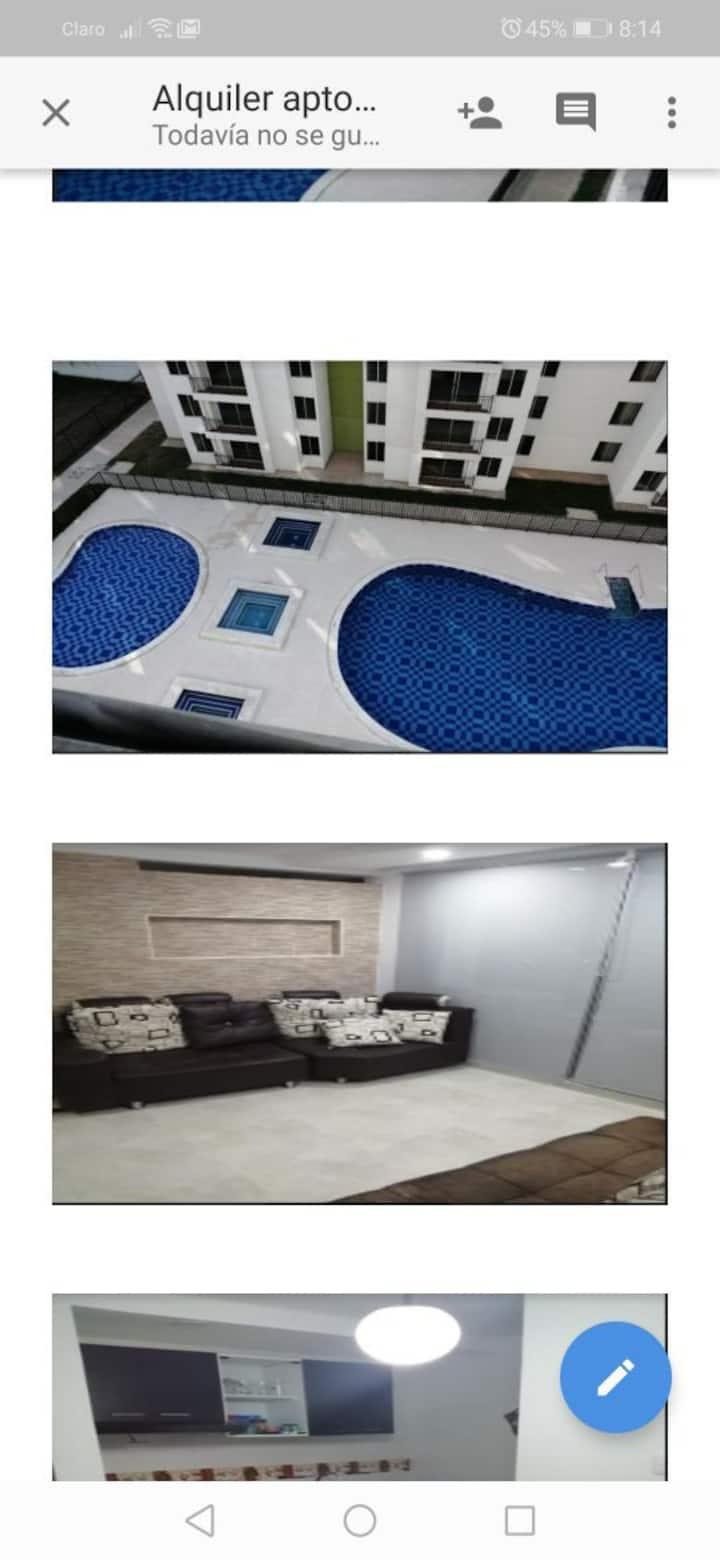 Hermoso apartamento en Ricaurte Cundinamarca.