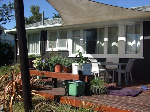 BaliStyle Exterior Close to Tongariro River & Lake - Turangi - Dom