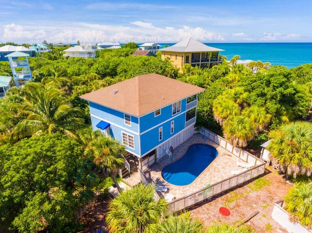 Private Pool Home - Just 25 Steps to the Beach - Captiva - House