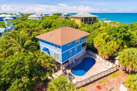 Private Pool Home - Just 25 Steps to the Beach - Captiva - Casa