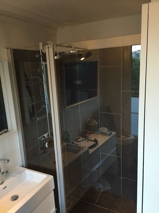 New bathroom and large shower!