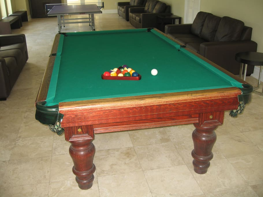 Onsite game room (table tennis and game room)