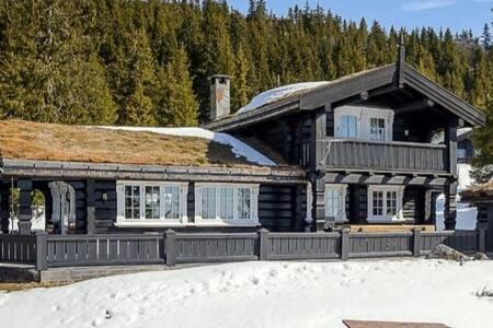 Natrudstilen, Sjusjøen - Hytte med Jacuzzi