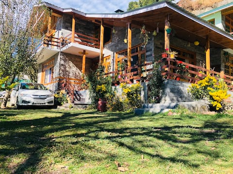 Wooded Bliss Manal | Entire Chalet |