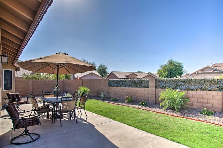 Bring your friends and family for a stay at this Chandler vacation rental!