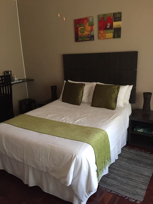 Double room, with in-suite bathroom