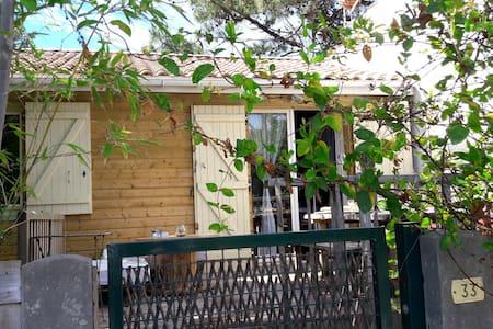 Maison avec terrasse et végétation - 拉卡诺 (Lacanau) - 独立屋