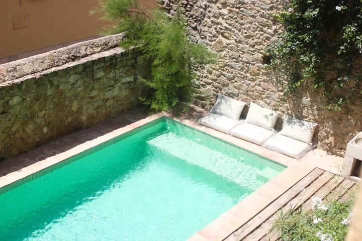 Casamigdia, Chambre d'hôte avec piscine (Frida)