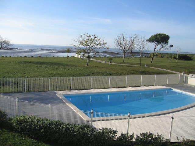 Appartement vue mer avec piscine - Châtelaillon-Plage - Huoneisto