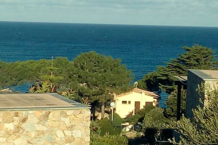 SEA VIEW, 2 bedrooms, pavillon and garden - Lumio - Apartment
