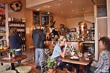 Great Coffee Shop on the Ground Floor