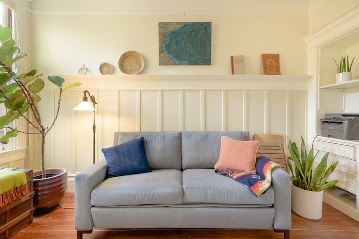Explore the Mission District from an Artistic Home