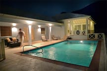 Pool @ night
