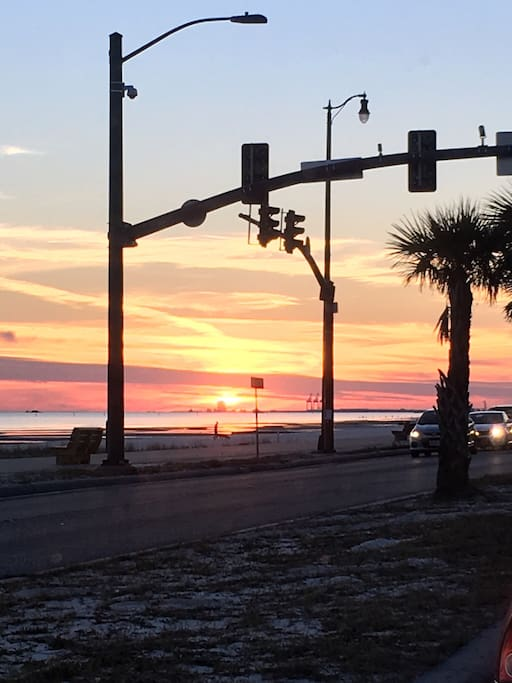 Street view of our Beautiful Gulf Coast!